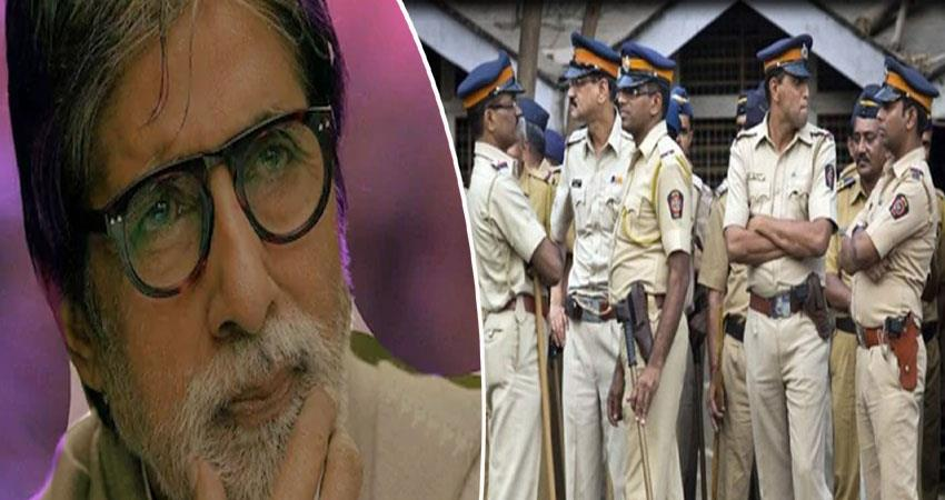 mumbai policeincreased security in big b bungalow after jaya bachchan statement anjnst