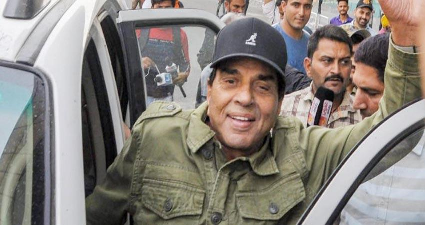 actor and former mp dharmendra said hopefully farmers will get justice today prshnt