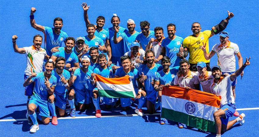 hockey''''s 41-year wait is over, defeating germany and winning the bronze medal kmbsnt