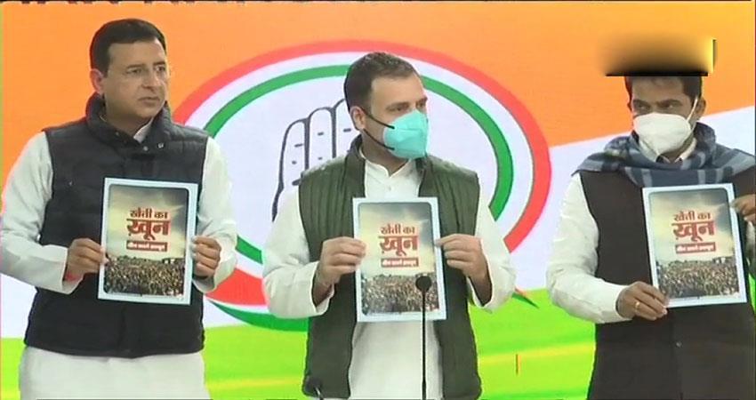 rahul gandhi attacks on govt pragnt