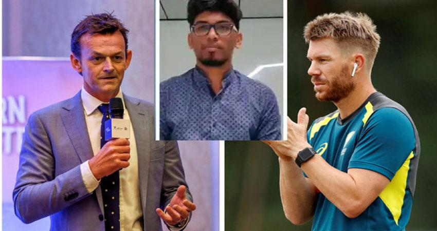gilchrist-and-warner-express-thanks-to-two-indian-students-djsgnt