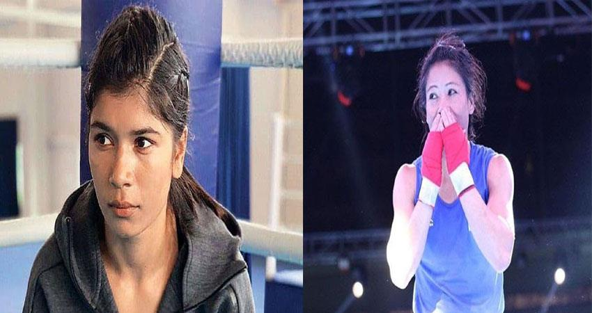 Mary Kom defeated Zarine and made it to Olympic qualifier squad