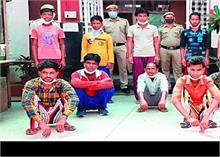 बिहार से दिल्ली में 14 किशोरों की तस्करी, धरे गए 10 आरोपी