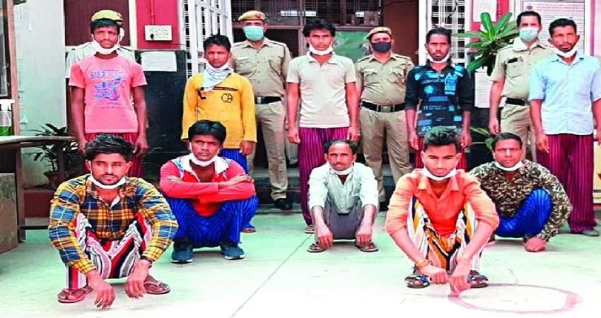14 teenagers trafficked from bihar in delhi 10 accused arrested kmbsnt