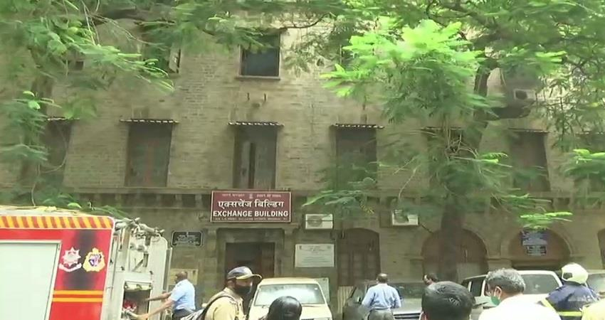 mumbai fire exchange office ncb office sushant case office fire breaks out sobhnt