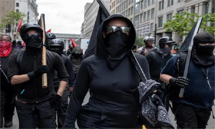 why trump call a bann on antifa the left terrorist organisation vbgunt