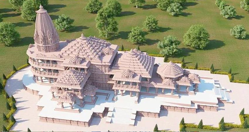 ayodhya trust bought land for temple ram temple complex will now be on 107 acres prshnt