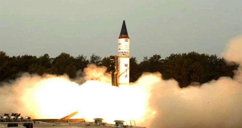 agni-5, which can kill five thousand km, was tested today, china stunned musrnt