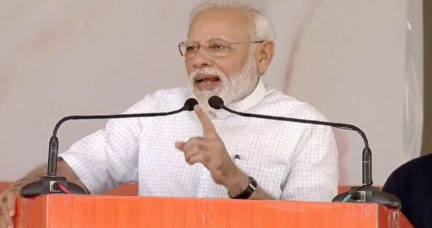 pm modi addressed maharali in haryana sought support for assembly elections
