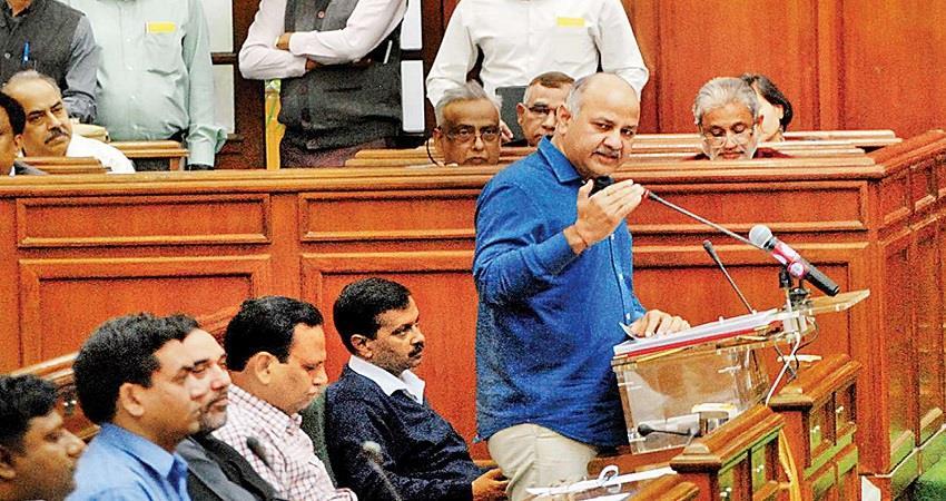 delhi assembly budget session 2020 65 thousand crore budget
