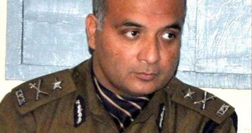 himachal pradesh government suspended inspector general of police zh zaidi