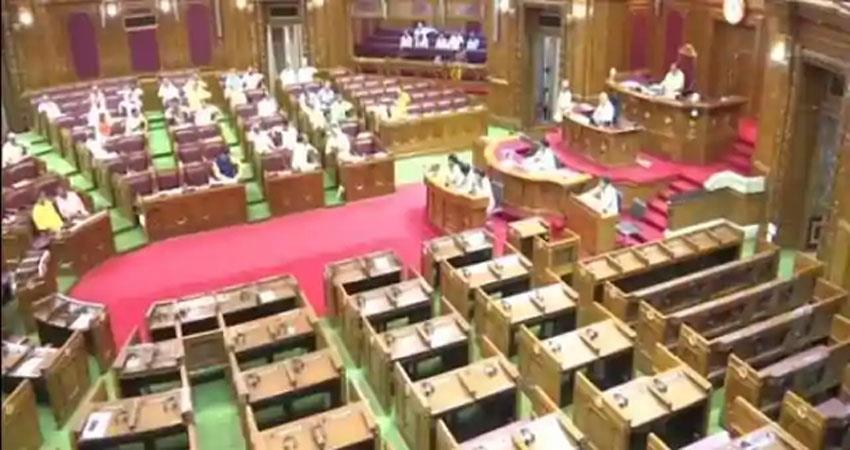 the MLA will be seen sitting in the gallery in up assembly in Monsoon session ALBSNT