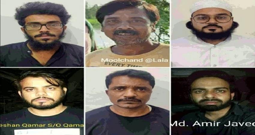 14 days judicial custody for all 6 terrorists who conspired to blast delhi-up kmbsnt
