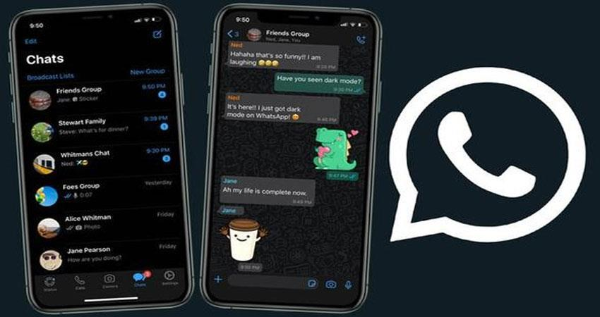apply this special trick on whatsapp darkmode