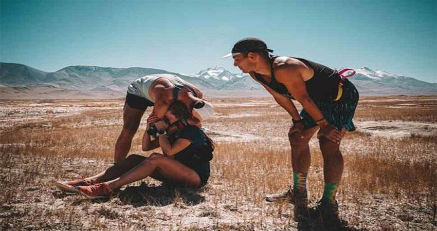 afghanistan: 3 friends who ran with a bet reached tajikistan 400 km away musrnt
