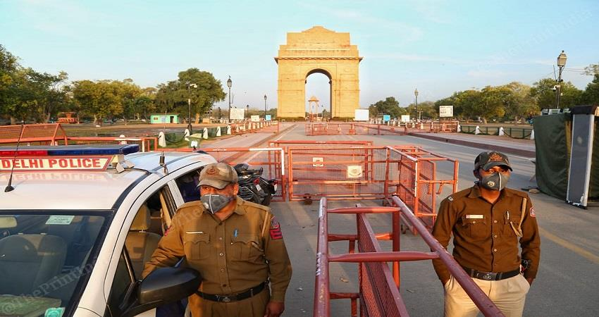 fake call of bomb blast in india gate delhi kmbsnt
