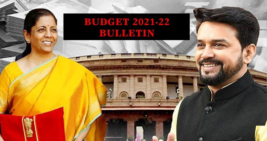 afternoon-bulletin-1st-february-2021-union-budget-2021-fm-nirmala-sitharaman