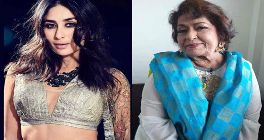 once kareena shared her experience working with saroj khan sosnnt