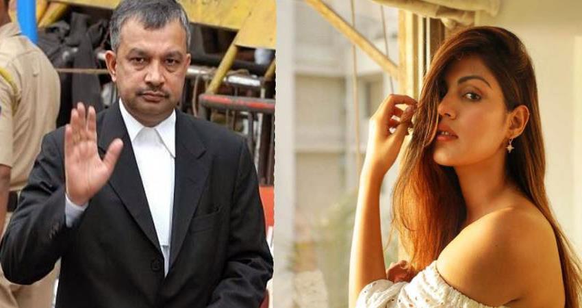 rhea chakraborty lawyer satish maneshinde reveals his fees sosnnt