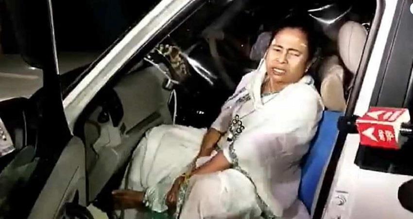 mamata banerjee injury nandi gram election commission verdict kmbsnt