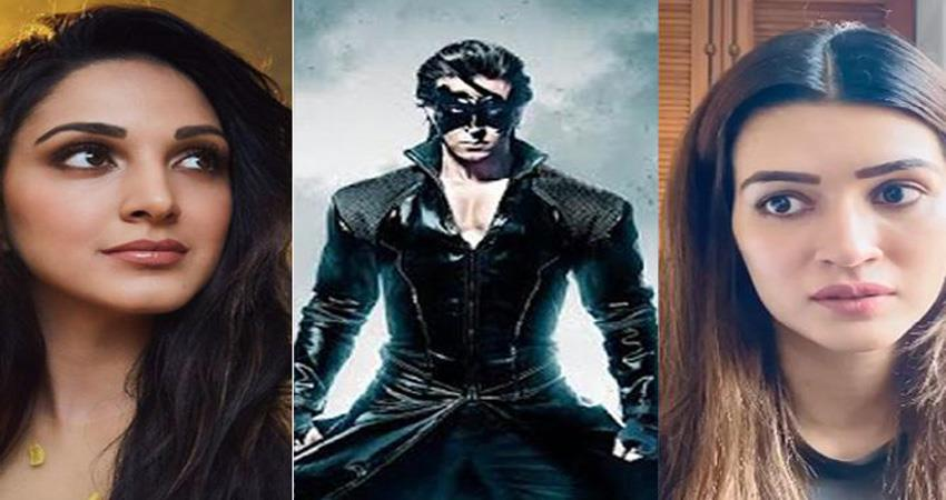 Kiara Advani to be a part of Hrithik Roshan film krrish 4 sosnnt