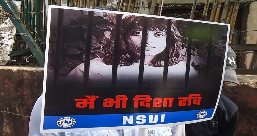 Disha Ravi Shantanu Muluk Confrontation Cyber Cell interrogation KMBSNT