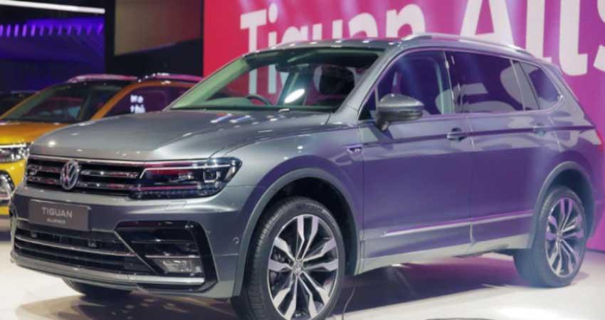 volkswagen tiguan allspace will be launch in next months