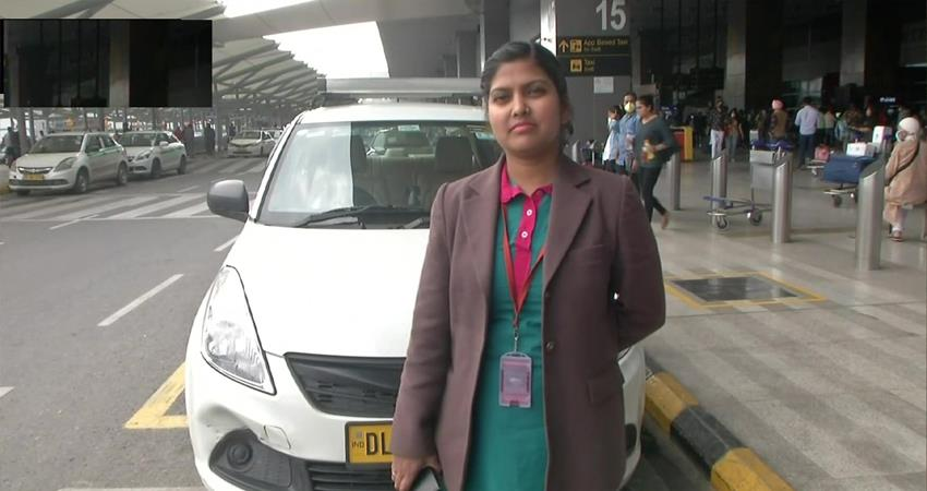 delhi international airport limited launched cab services for women