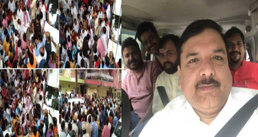 chhath puja 2019 tension between aap and bjp