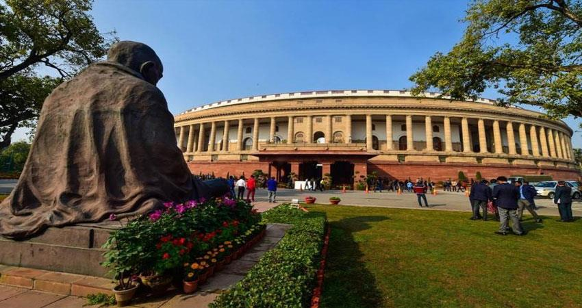 gandhis statue will be removed from parliament house djsgnt