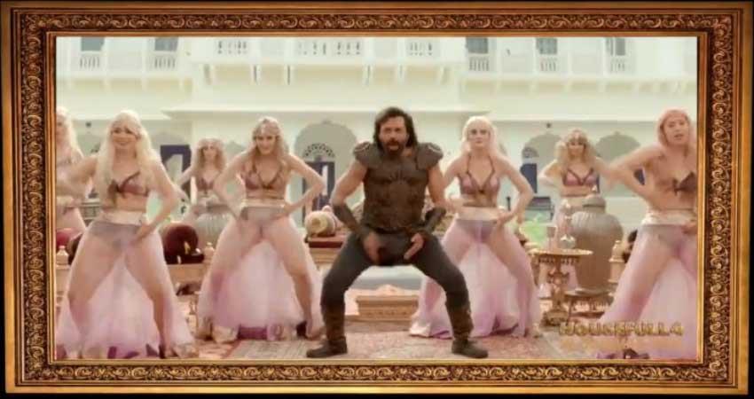 Akshay Kumar share Bala song BTS Video