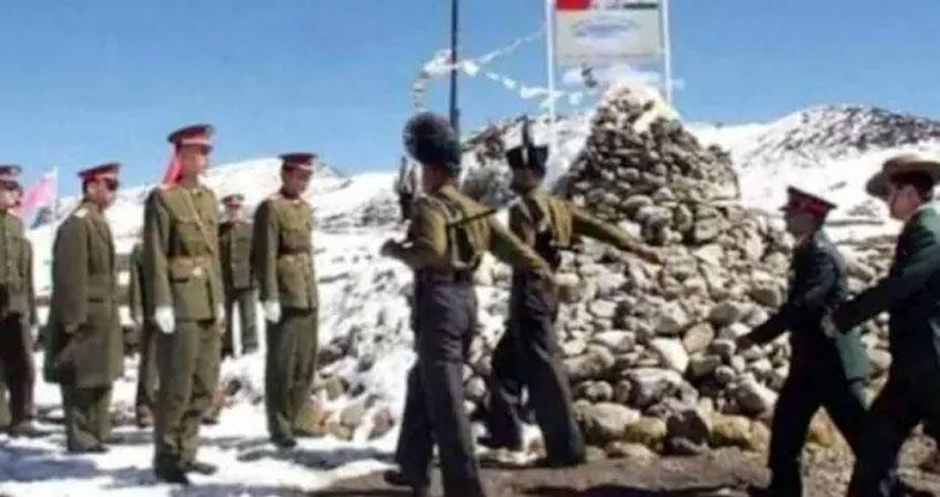 tension increased on indo china border indian army stopped chinese army infiltration prshnt