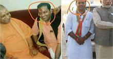 हाथरस कांड के आरोपी का पिता नहीं है BJP नेताओं के साथ दिख रहा ये शख्स, जानें क्या है सच