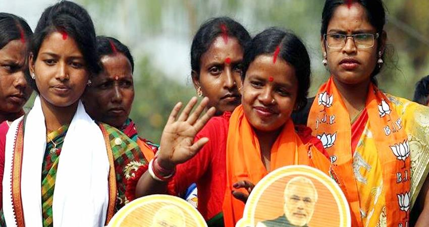 west bengal bjp''''''''s candidate from bankura is the wife of a rural laborer no toilet prshnt