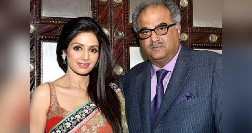boney kapoor gets emotional award of wife sridevi