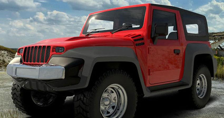 redesigned-redesign-of-the-new-mahindra-thar-completely-changed-its-front-anjsnt