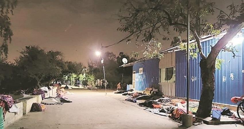 5000 people sought shelter in delhi coronavirus lockdown kmbsnt