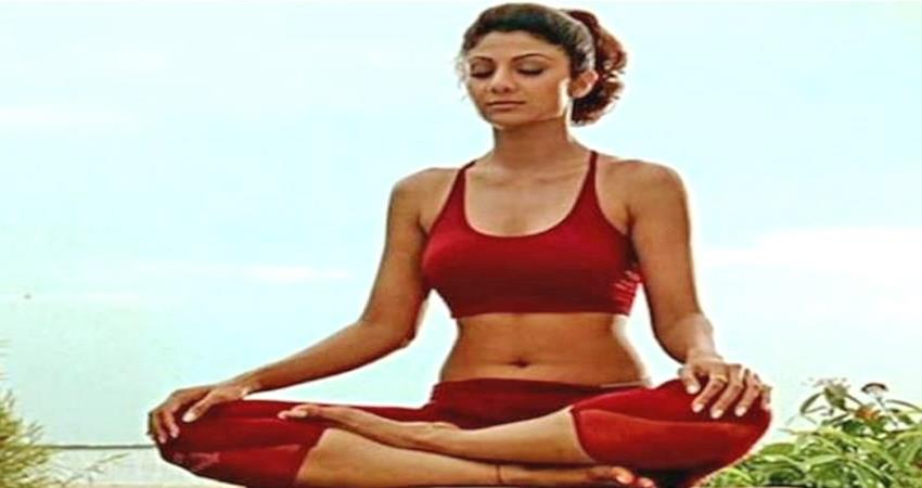 shilpa shetty shares yoga asana to get rid of stress sosnnt
