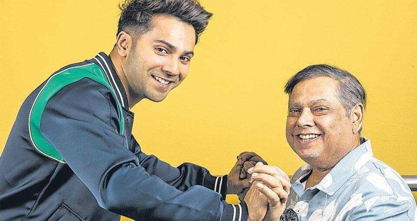 varun dhawan shares a picture with his father david dhawan