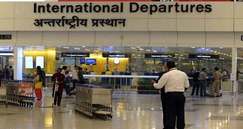 corona test for international passengers to be held at delhi airport djsgnt