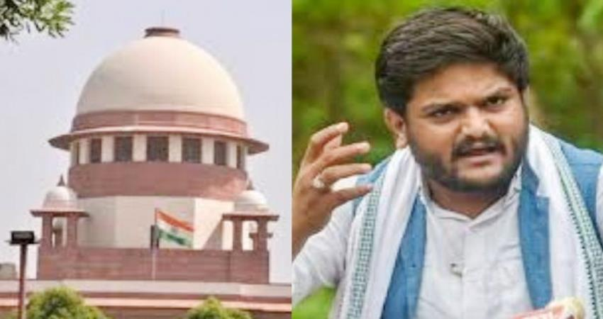 Patidar agitation: Supreme Court bans arrest of Hardik Patel notice to Gujarat government