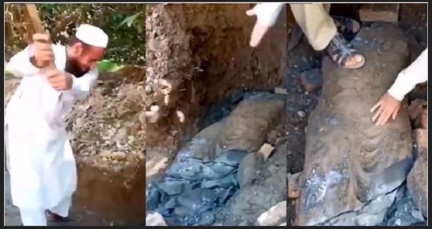 rare-buddha-statue-vandalised-in-pakistan-four-arrest-prsgnt