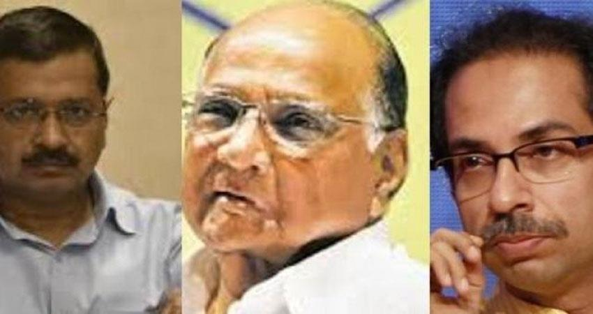 Kejriwal Uddhav and Sharad Pawar make a distance for opposition solidarity with Hemant Soren