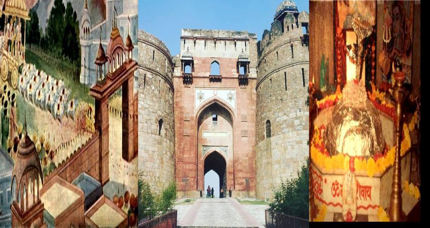not only old fort, these places of delhi are also associated with pandavas