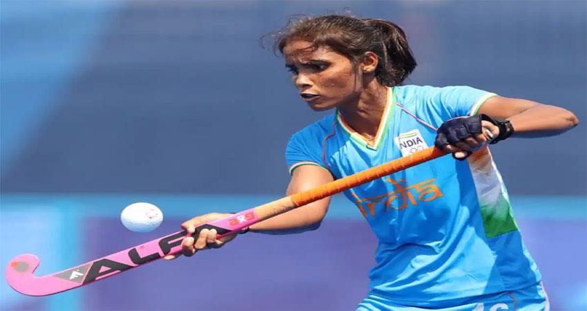 tokyo olympics: india''''''''s vandna katariya score a hat- trick musrnt