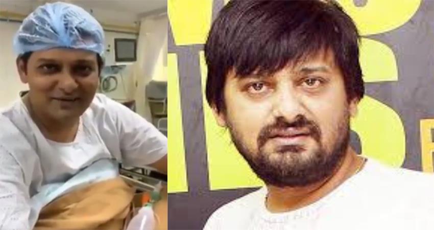 wajid khan last video viral from hospital sosnnt