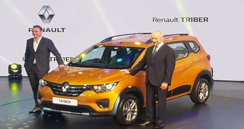 Renault launched 7 seater triber in India