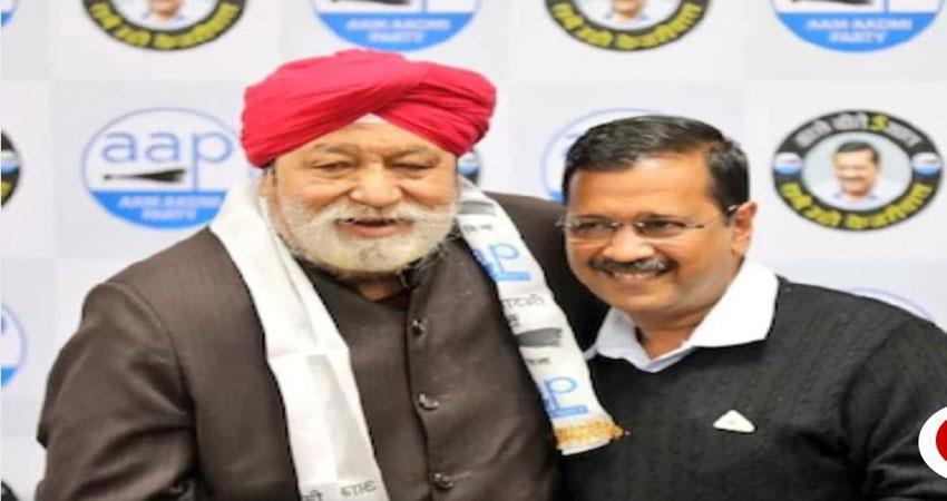bjp leader harcharan singh balli join aap