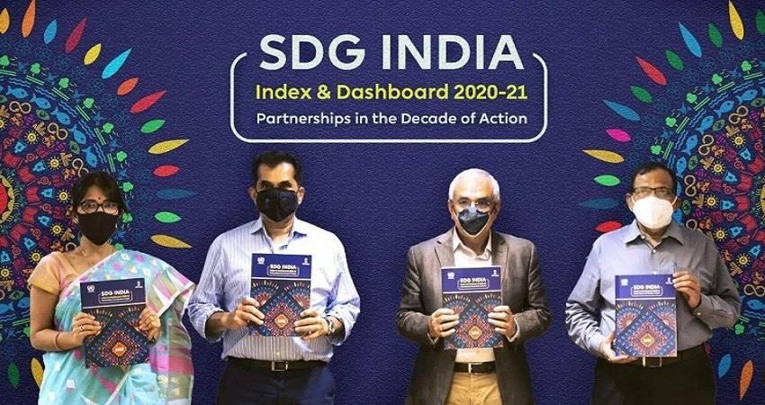 kerala on top performers in niti aayogs sdg india index 2020-21 bihar worst prshnt