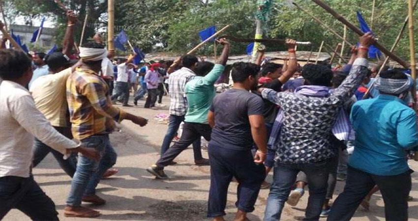 violence-in-begusarai-supporters-of-kanhaiya-bjp-after-huge-rise-in-election-trends
